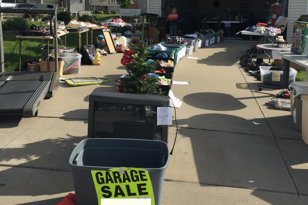 Permanent Hiatus - Don't Be Afraid to Have a Garage Sale