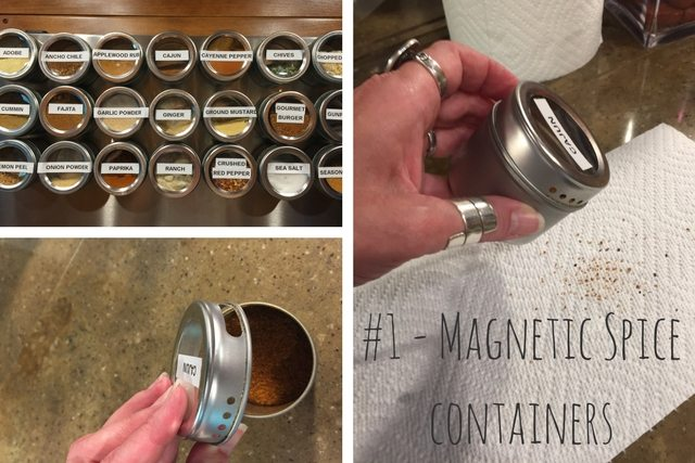 #1 - Magnetic Spice Containers